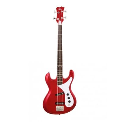 Aria DMB 01 OCR  Diamond Series Bass, Old Candy Apple Red for sale