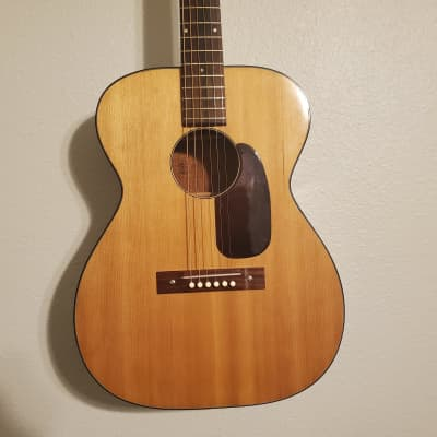 1963 Harmony H-162 Acoustic Guitar   Natural for sale