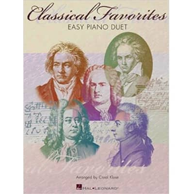 Classical Favorites: Easy Piano Duets