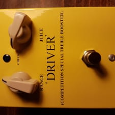 PigDog Driver Competition Special Treble Booster 2011 Yellow