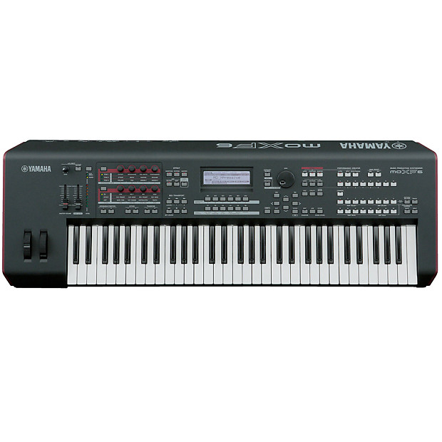 Yamaha moxf6 61 key semi weighted keyboard 8th street music reverb for Yamaha fully weighted keyboard