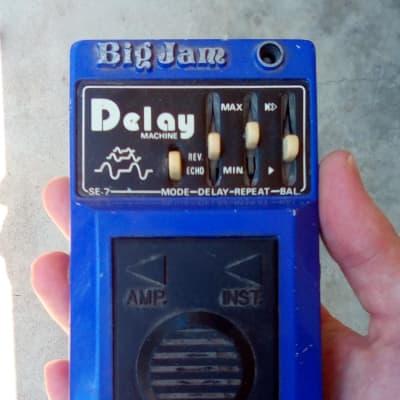 1970s Multivox Big Jam SE-7 Delay Machine vintage analog delay/reverb pedal (Made in Japan) for sale