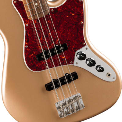 Fender Vintera '60s Jazz Bass Pau Ferro Fingerboard Firemist Gold for sale