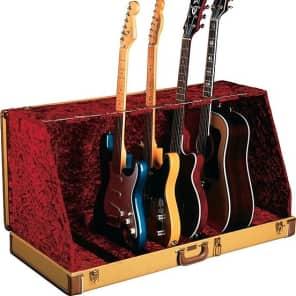 Fender Stage Seven Guitar Stand Case, Tweed 2016