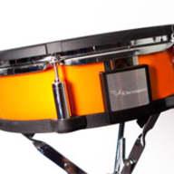 Roland SW20KXOS Custom Shell Wrap Package Orange Schock (Highly Reflective) for TD-20KX / TD-30KV