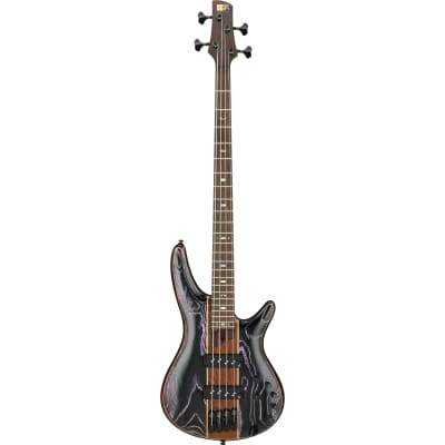 Ibanez SR1300SB Soundgear Premium Magic Wave Low Gloss Electric Bass Guitar with Gig Bag for sale