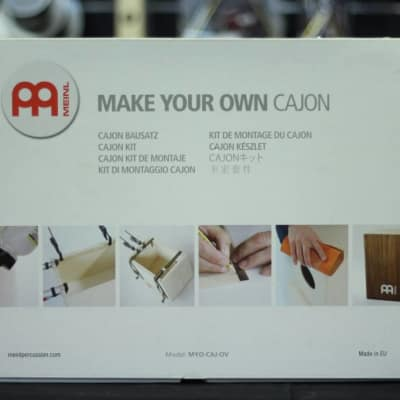Meinl Make Your Own Cajon Kit Frontplate: Ovangkol