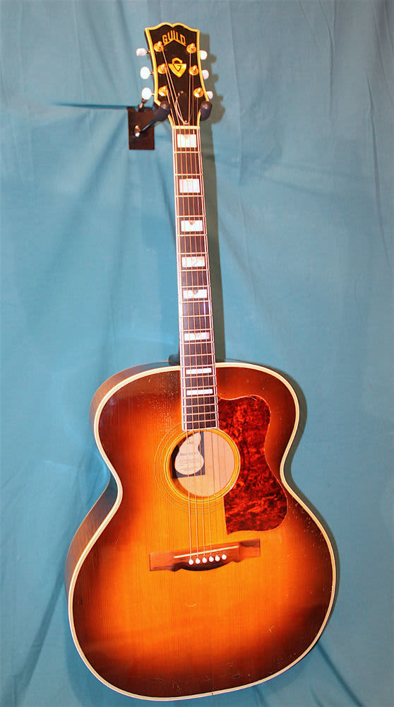 Fine Line Auto >> 1957 Guild F-50 Navarre Acoustic Guitar- A Real Classic
