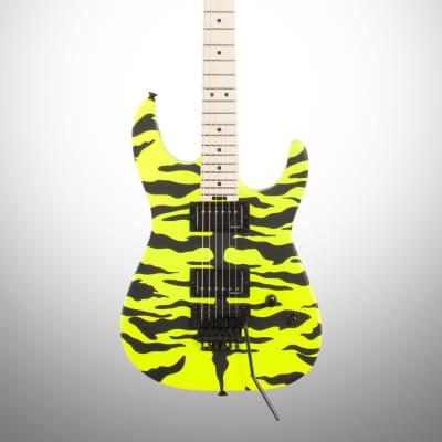 Charvel Satchel Signature Pro-Mod DK, Maple Fingerboard, Yellow Bengal