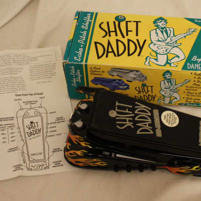 Danelectro Danelectro Shift Daddy - Rockabilly Flame W/ Original Box/ Manual Black w/Flames for sale