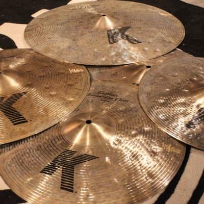 Zildjian K Custom Special Dry Pack Cymbal Box Set (14HH-16C-18C-21R) - Demo!