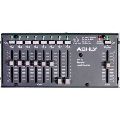 Ashly RW-8C Fader Remote Control for VCM-88C 8-Ch w Master /wall-mount RW8C -Open -Mint