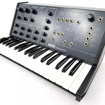 Korg MS-10 Original Vintage Analog Semi-Modular Synthesizer RARE Working ms 20 50 Classic