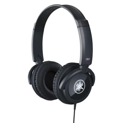 Yamaha HPH-100 Closed-Back Headphones - Black