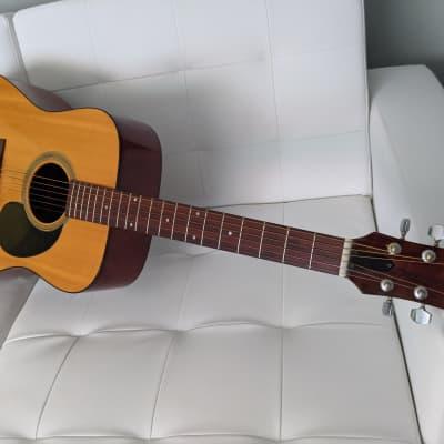 Odessa Dixon D17  Acoustic 6-String 1970's / 1980's Guitar w/ Case Unique  Novelty Collector Rare for sale