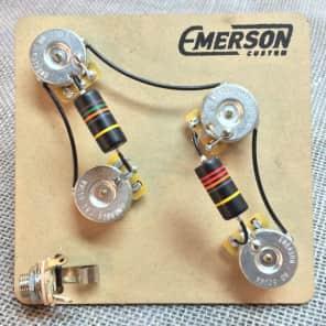 Emerson PRS4 4-Knob 500K Prewired PRS Kit