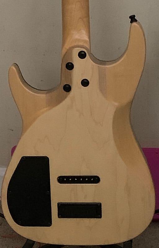 godin redline hb natural electric guitar super jumbo frets reverb. Black Bedroom Furniture Sets. Home Design Ideas