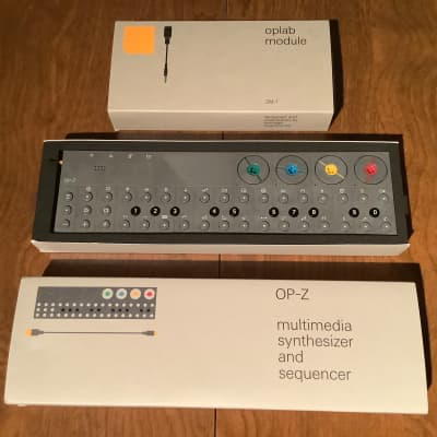 Teenage Engineering OP-Z Synthesizer and Sampler + Teenage Engineering Oplab Module OP-Z Expander