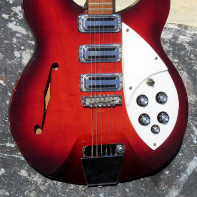 Rickenbacker Rose Morris 1998 Pete Townsend 1966 Autumnglo finish for sale