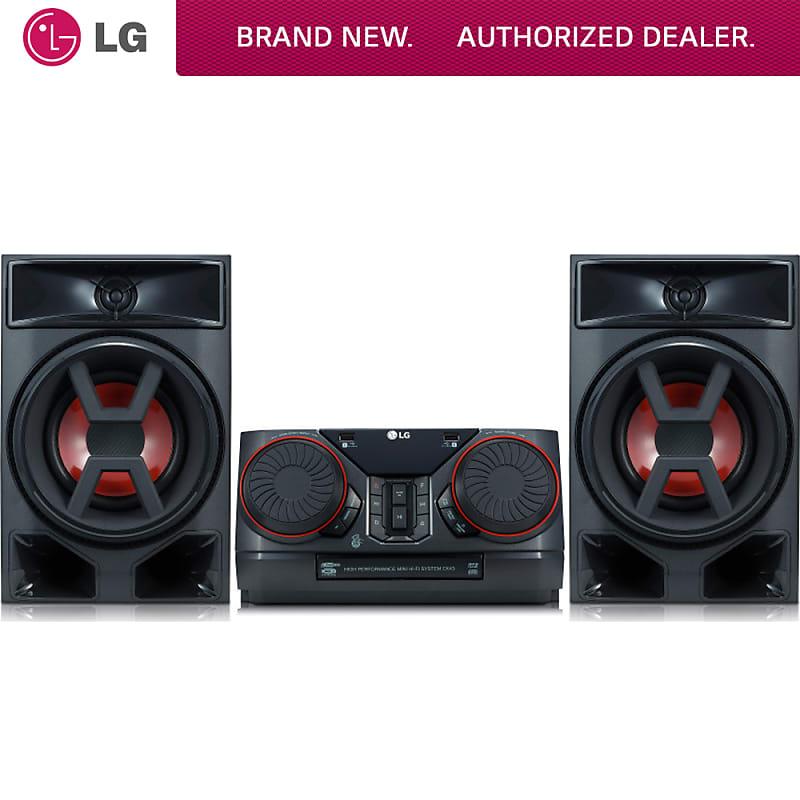 LG CK43 300W Hi-Fi Shelf Speaker System - (CK43) | Buydig