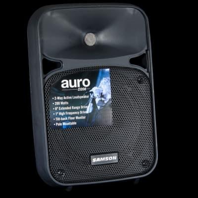 Samson Auro D208 Two-Way Active Loudspeaker, 200 Watts