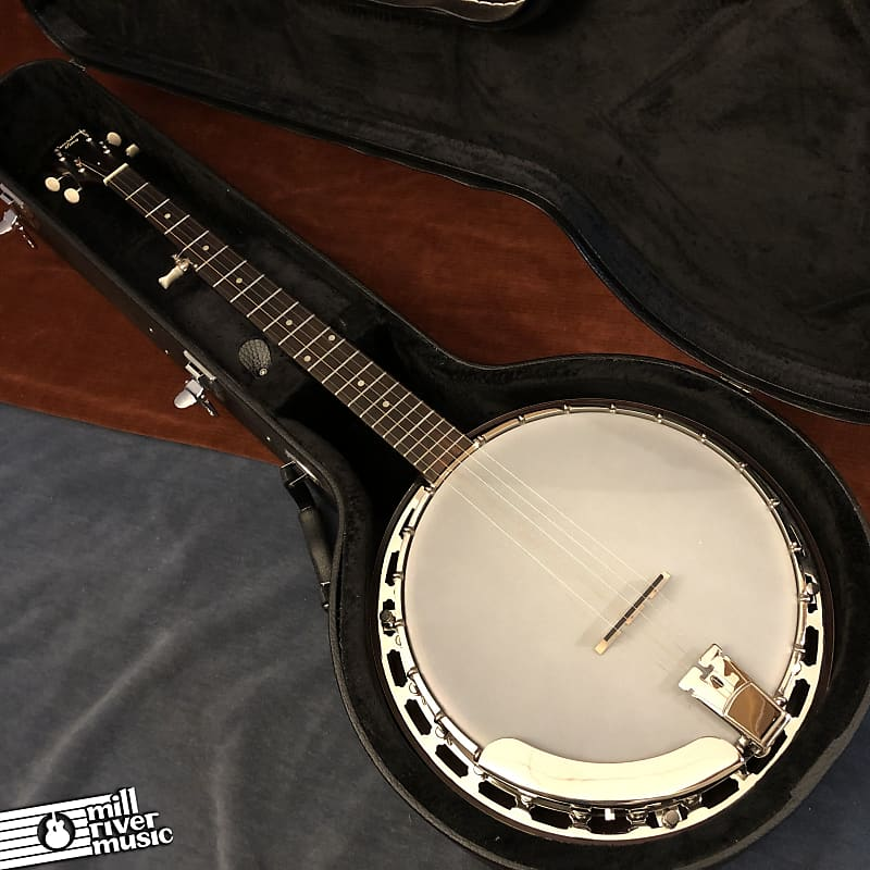 Recording King RKH-05 Dirty 30s 5-String Resonator Banjo w/ HSC