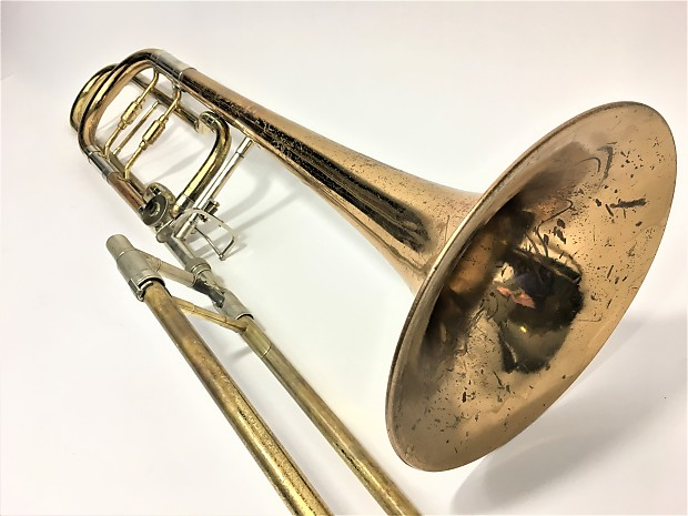 Conn 110H Trombone with F/rotor | MusicMasters Reverb Store
