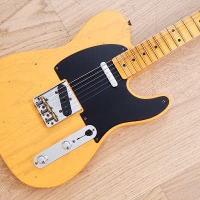 f0ade0931f See Similar Electric Guitars. 2018 Fender Custom Shop Flash Coat 52  Telecaster Relic Butterscotch w/ Case, Tags &