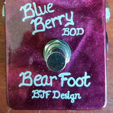 Bearfoot FX BlueBerry Bass Overdrive (BBOD) BJFe