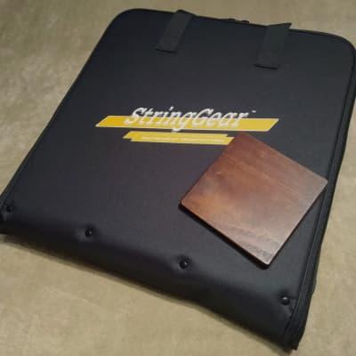 Guitar maintenance workstation with optional neck rest base