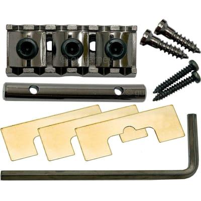 "Gotoh GHL-2 Locking Nut - Top mount type - 1-11/16""(R4) 43mm width - COSMO BLACK"