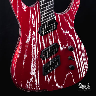 """Ormsby Hypemachine CustomShop Factory Custom 2021 """"Black Friday Red Metallic"""""""