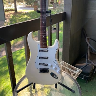 Fender Standard Strat SSS 2000 Heavily modded Lace Alumitones