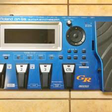 Roland GR-55 w/ GK-3 Pickup Blue