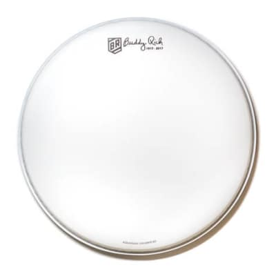 Aquarian Limited Edition Commemorative Buddy Rich Signature Snare Drum Head 14 image