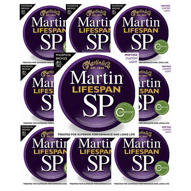 martin 10 pack sp lifespan 7050 acoustic guitar strings reverb. Black Bedroom Furniture Sets. Home Design Ideas