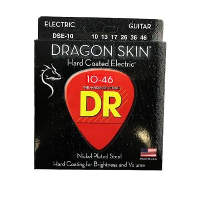 DR Guitar Strings Electric Dragon Skins 10-46 Medium
