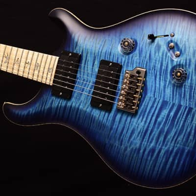 NEW Paul Reed Smith Wood Library Custom 24-08 Satin Brian's Limited Aquableux Purple Burst! for sale
