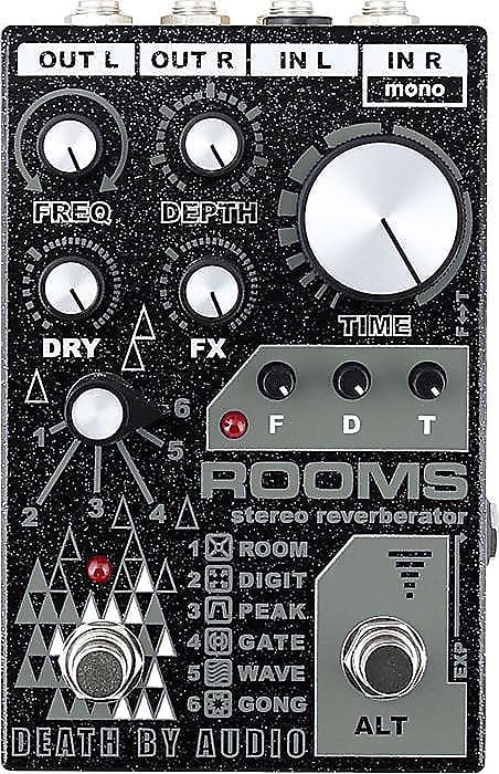 Death By Audio Rooms Stereo Reverb *Free US Shipping* Pre-order