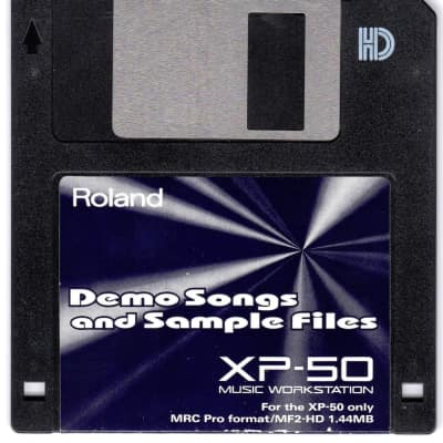 Roland XP-50 Demo Song & Sample Files