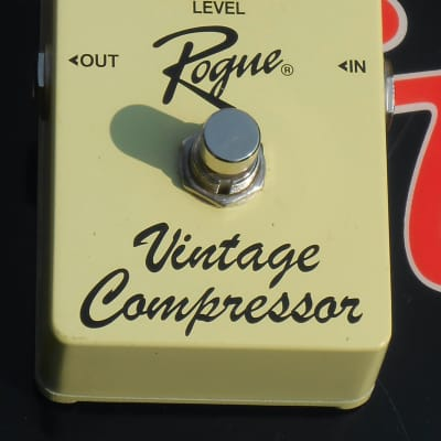 Rogue Vintage Compressor Pedal Yellow