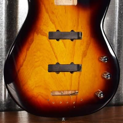 G&L Tribute JB-2 4 String Jazz Bass 3 Tone Sunburst JB2 Body Used
