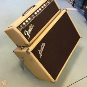 "Fender Tremolux 6G9-A 30-Watt 1x10"" Piggyback Guitar Amp 1960 - 1963"