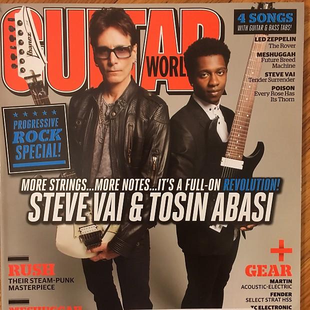 Guitar World September 2012 - Steve Vai & Tosin Abasi