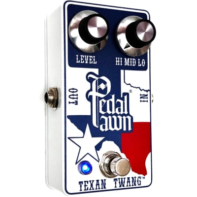 New 2021 Pedal Pawn ® Texan Twang ™ | Cesar Diaz Texas Ranger Guitar Pedal