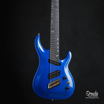 Ormsby SX GTR 7 string Multiscale 10th Anniversary 2019 Forget-Me-Not Blue Metallic Gloss for sale