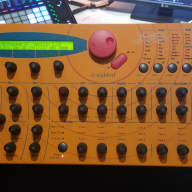 "Waldorf Microwave XT ""Orange Peel"" 1990s Orange"