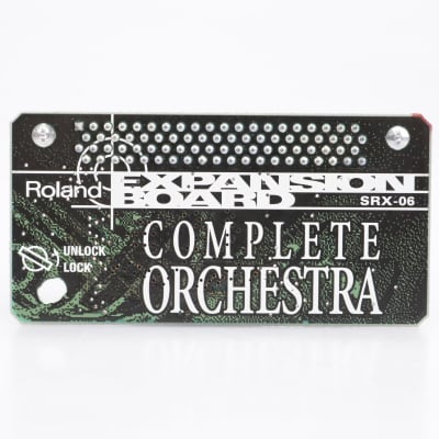 Roland SRX-06 Complete Orchestra Expansion Board Sound Card #43540