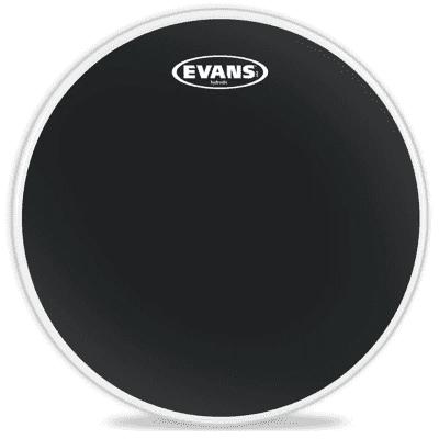 "Evans TT18HBG Hydraulic Black Drum Head - 18"""