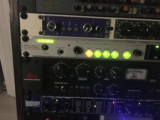 Aphex Project Channel Silver   todd's Gear   Reverb